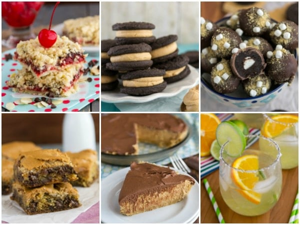 collage of 6 different recipes