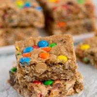 Loaded Oatmeal Blondies (5 of 6)w