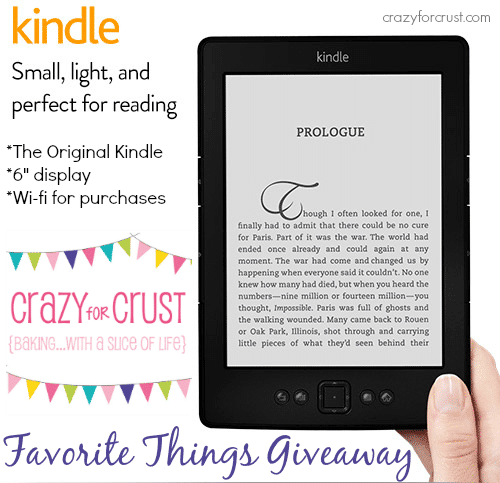 kindle favorite things giveaway