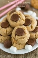 Not just for the holidays: Peanut butter s'more blossoms
