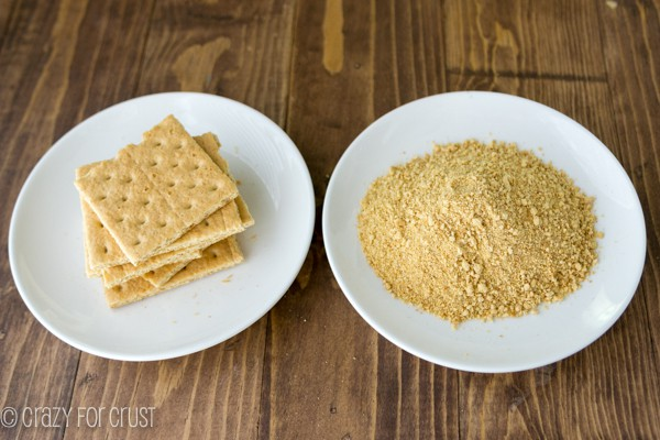 graham crackers whole and graham cracker crumbs