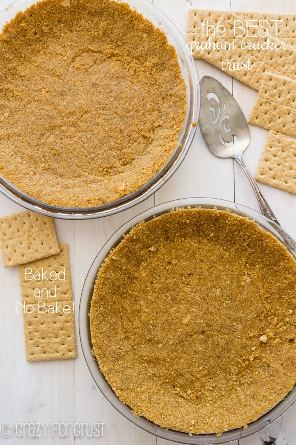 Perfect Graham Cracker Crust by crazyforcrust.com