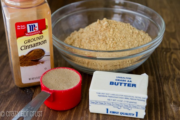 Perfect Graham Cracker Crust {bake and no-bake} - Crazy for Crust