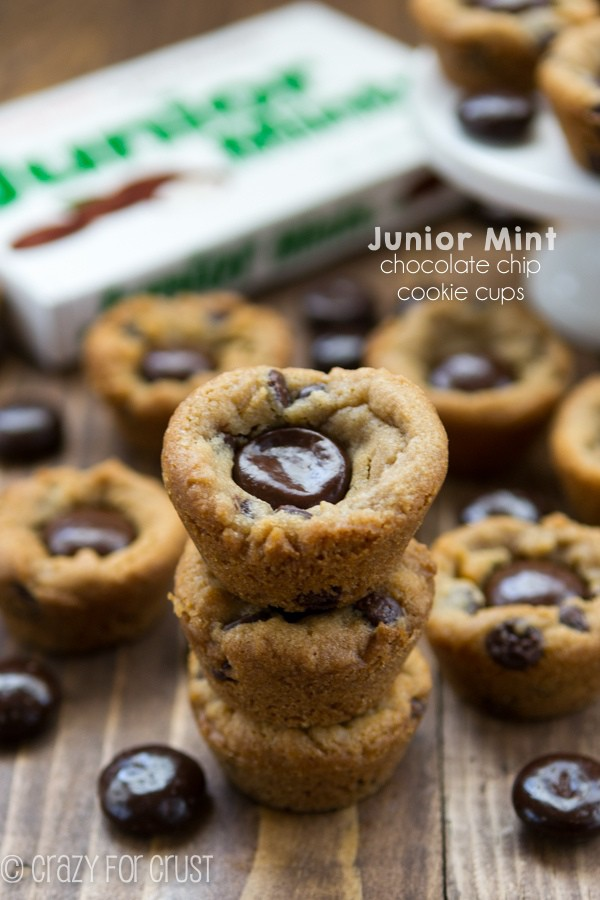 Junior Mint Chocolate Chip Cookie Cups (4 of 7)w