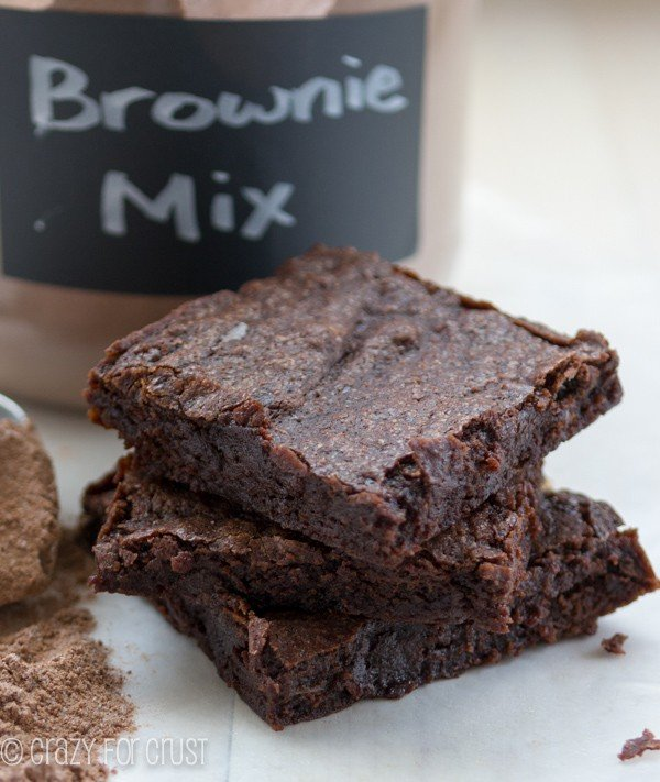 The Best Homemade Brownie Mix - it makes the best brownies!