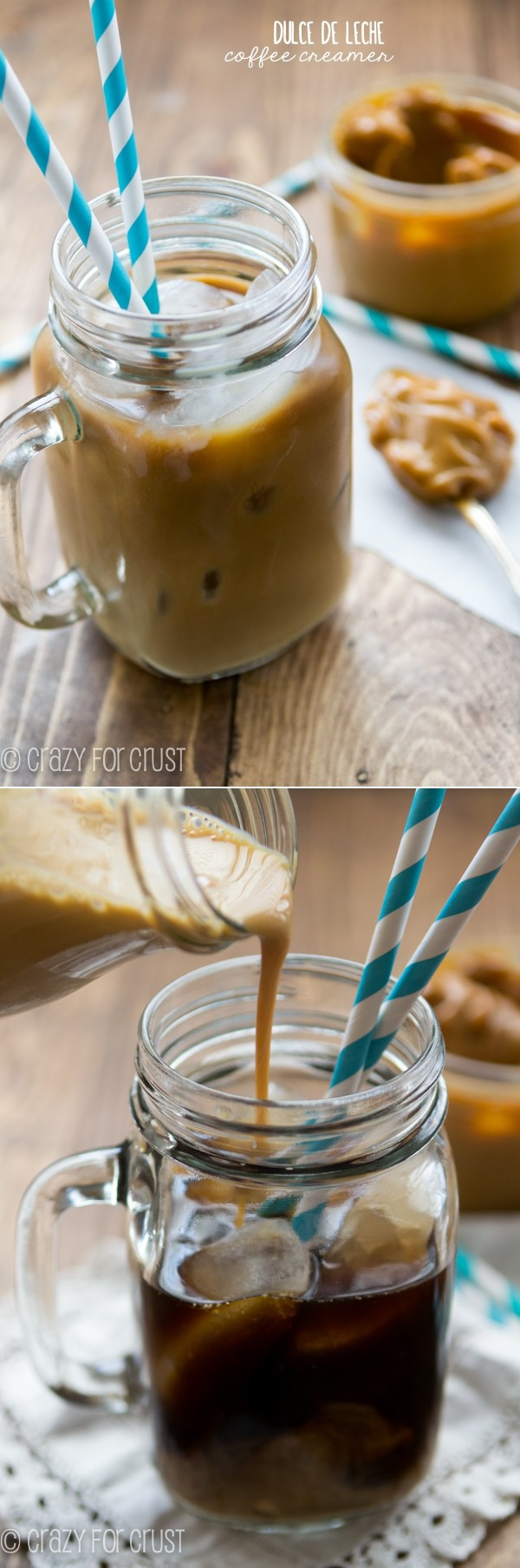 Dulce de Leche Coffee Creamer - only 2 ingredients!