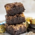 Oreo Peanut Butter Cup Brownies (5 of 9)w