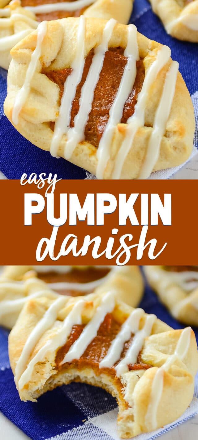 pumpkin danish collage photos
