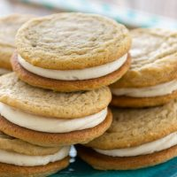 Homemade Soft Golden Oreos (1 of 5)w