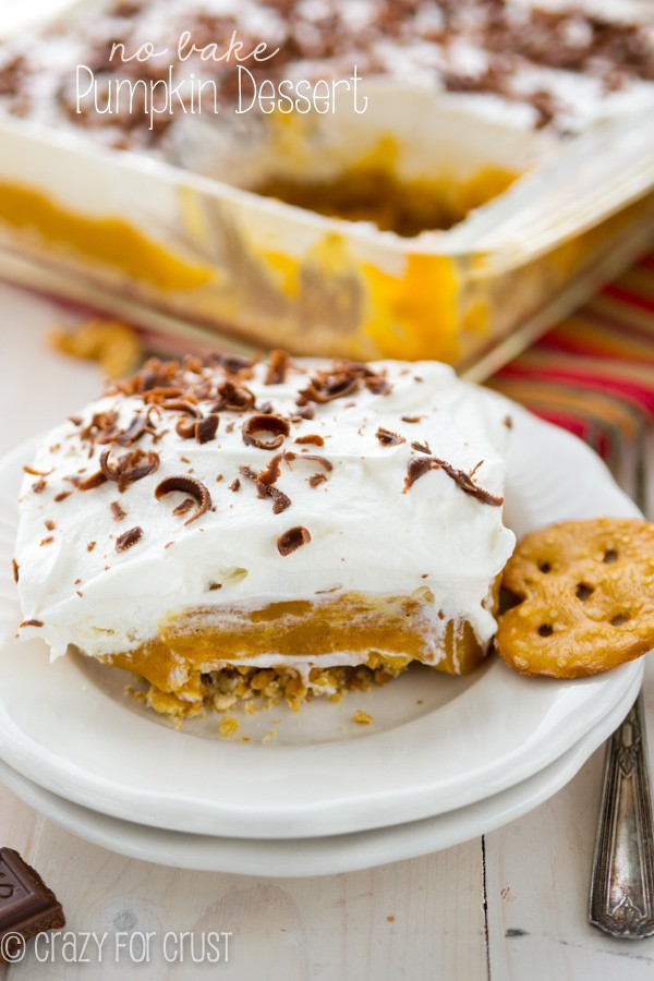 No Bake Pumpkin Dessert (2 of 10)w