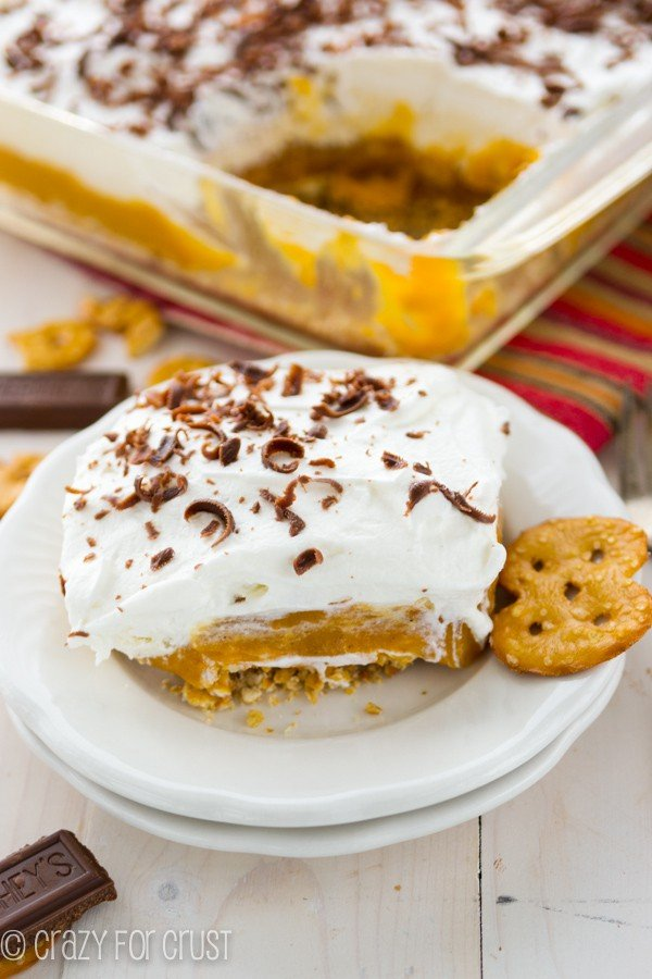No Bake Pumpkin Dessert