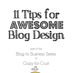 11 Tips for Awesome Blog Design