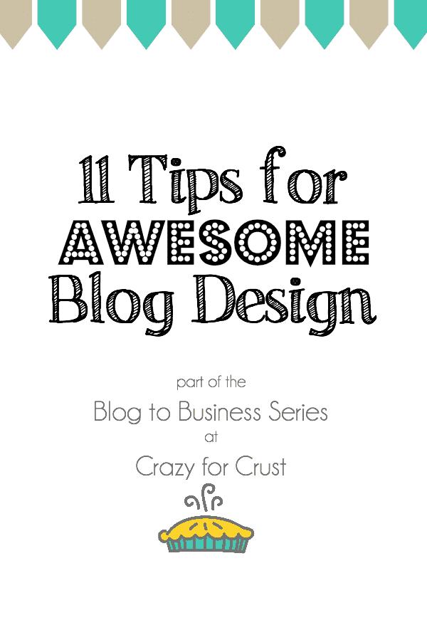 Blog to Business: 11 Tips for Good Blog Design