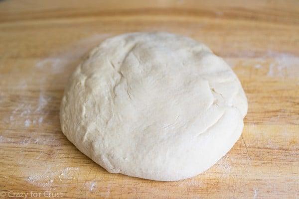 Risen Dough for pretzels