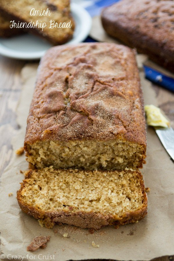 Amish Friendship Bread {and starter}