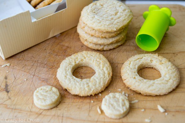 how to make doughnut cookies