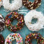 overhead shot of doughnut cookies