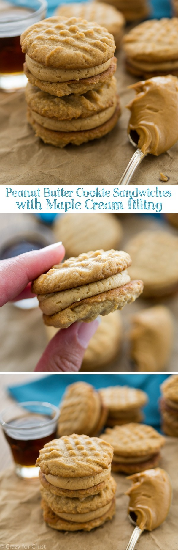 Oatmeal Sandwich Cookies With Creamy Peanut Butter Filling Recipes ...