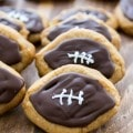 Peanut Butter Football Cookies (6 of 8)w
