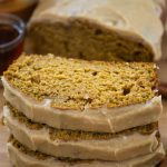 Pumpkin Bread with Maple Glaze will become your new favorite pumpkin quick bread recipe!