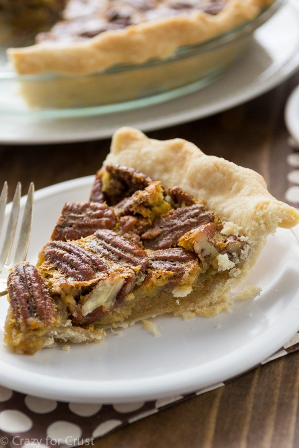 ... little teaspoons made pecan pie the best pie in the whole world