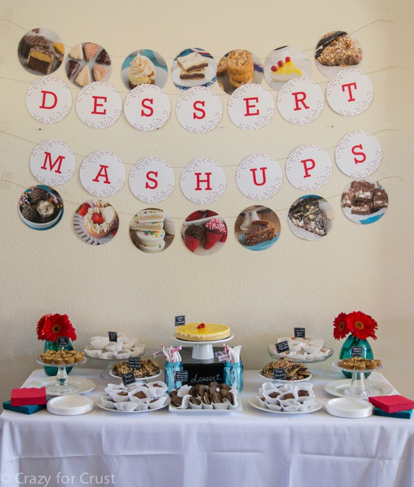 Dessert Mash-Ups Book Launch Party
