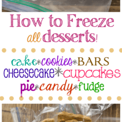 How to freeze desserts so you can make them in advance for the holidays