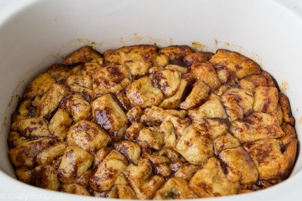 You can make monkey bread in a crockpot!