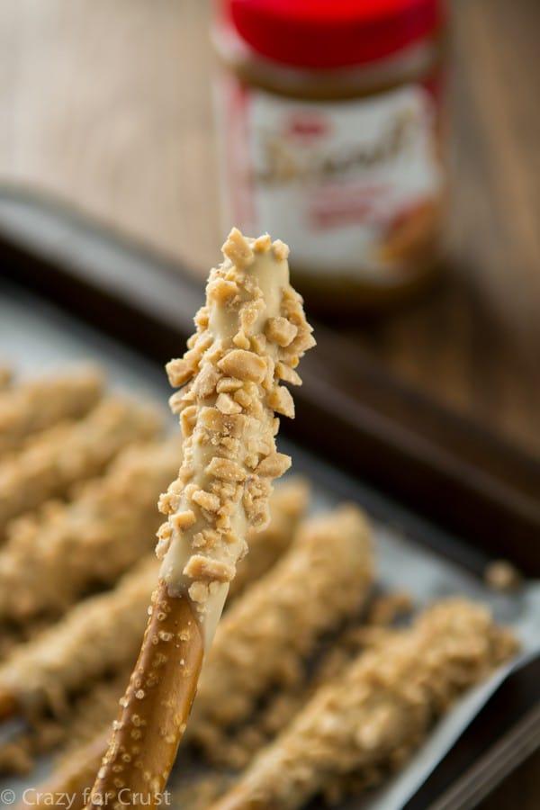 Biscoff Toffee Pretzel Rods