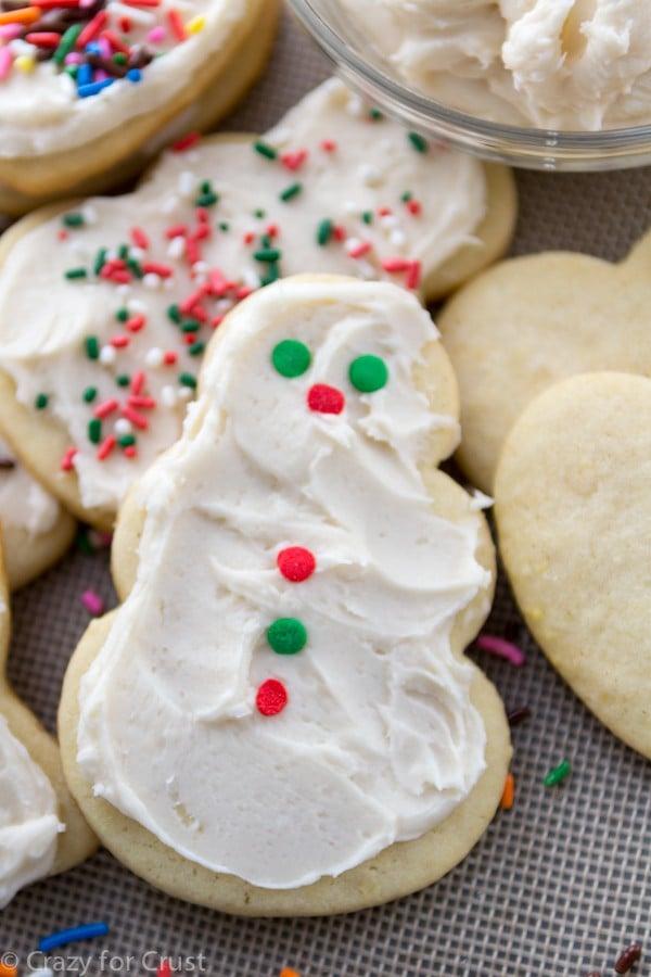 My favorite Cutout Sugar Cookies that hold their shape while baking!