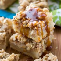 Pear Pie Crumble Bars are a wonderful addition to your Thanksgiving meal.