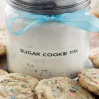 homemade sugar cookie mix: no more need for the prepackaged mix!