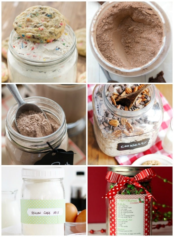 Homemade Holiday Gift Ideas: mixes