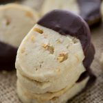 Ginger shortbread cookies are soft and buttery with a tang of ginger,