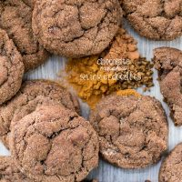 Chocolate mocha cookies are a fun variation of the traditional snickerdoodle.