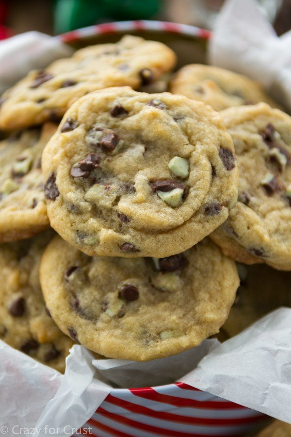 Mint Chip Chocolate Chip Cookies (3 of 7)