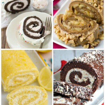 Try your hand at one of these many cake roll recipes--great for any occasion!