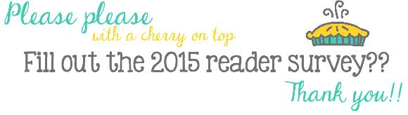 Crazy for Crust 2015 Reader Survey