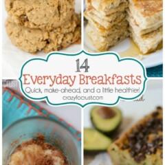 Everyday Breakfasts