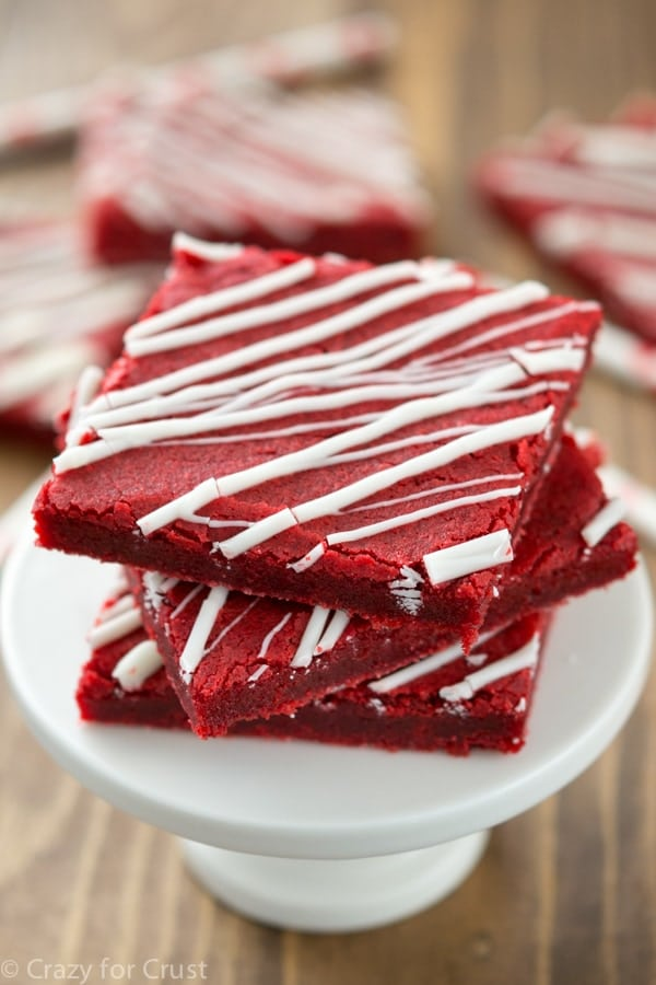 Red Velvet Blondies