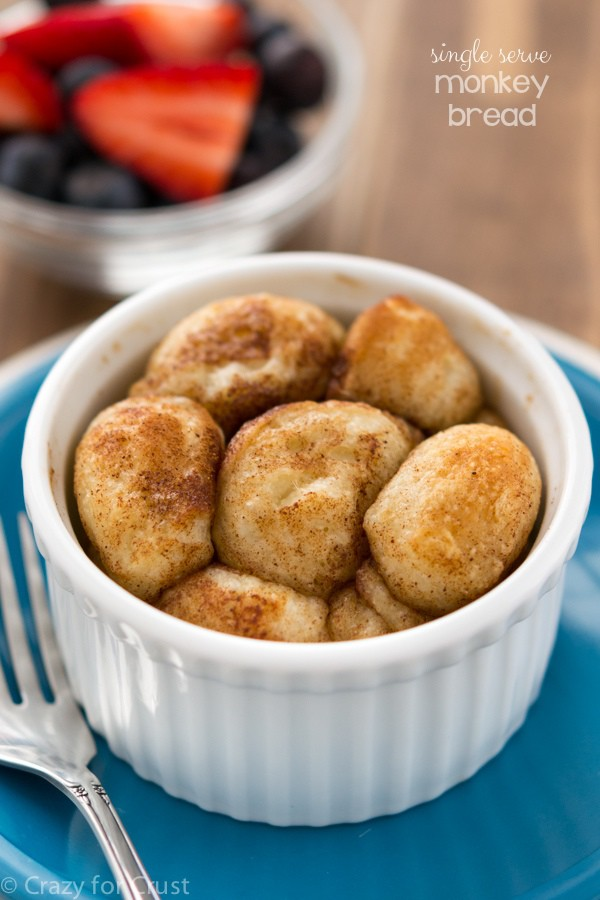 single serve monkey bread