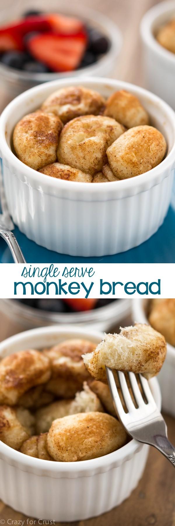 Single Serve Monkey Bread
