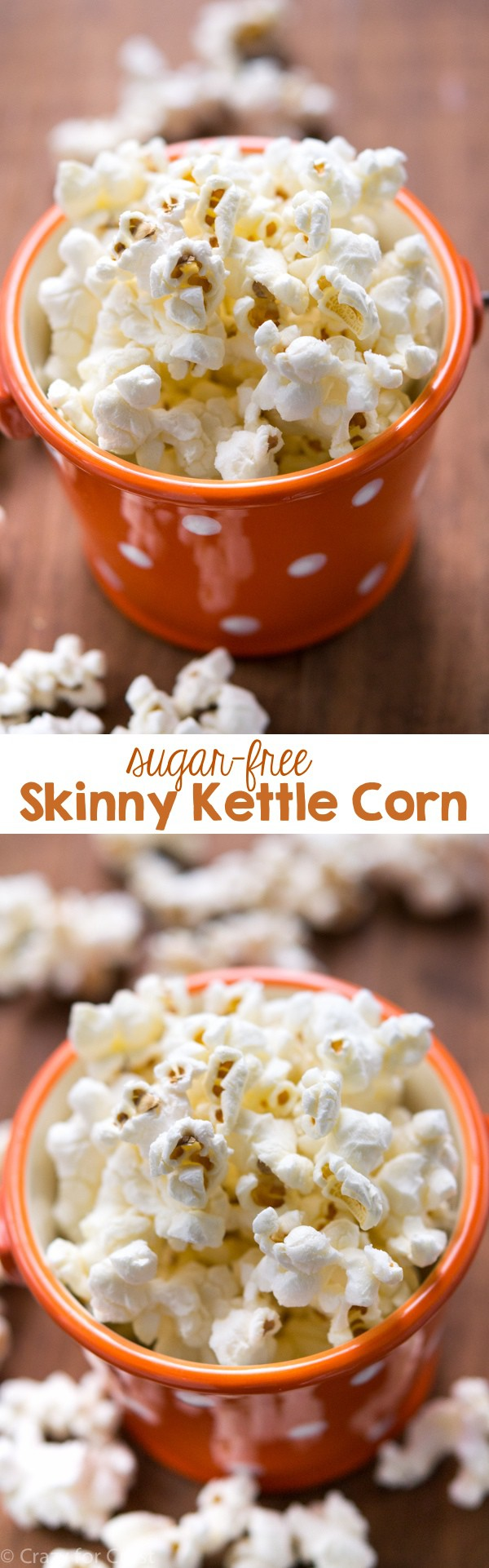 Skinny Sugar Free Kettle Corn is the perfect snack when you're counting calories.