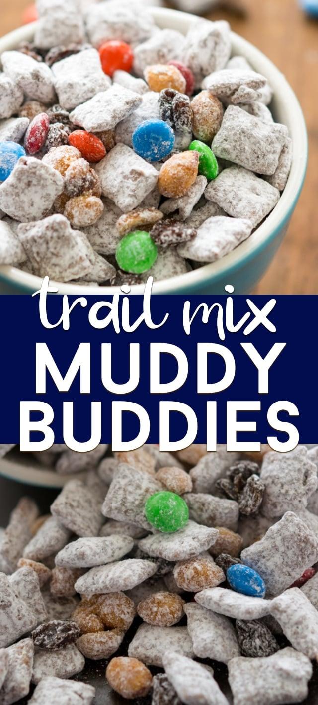 collage muddy buddies recipe