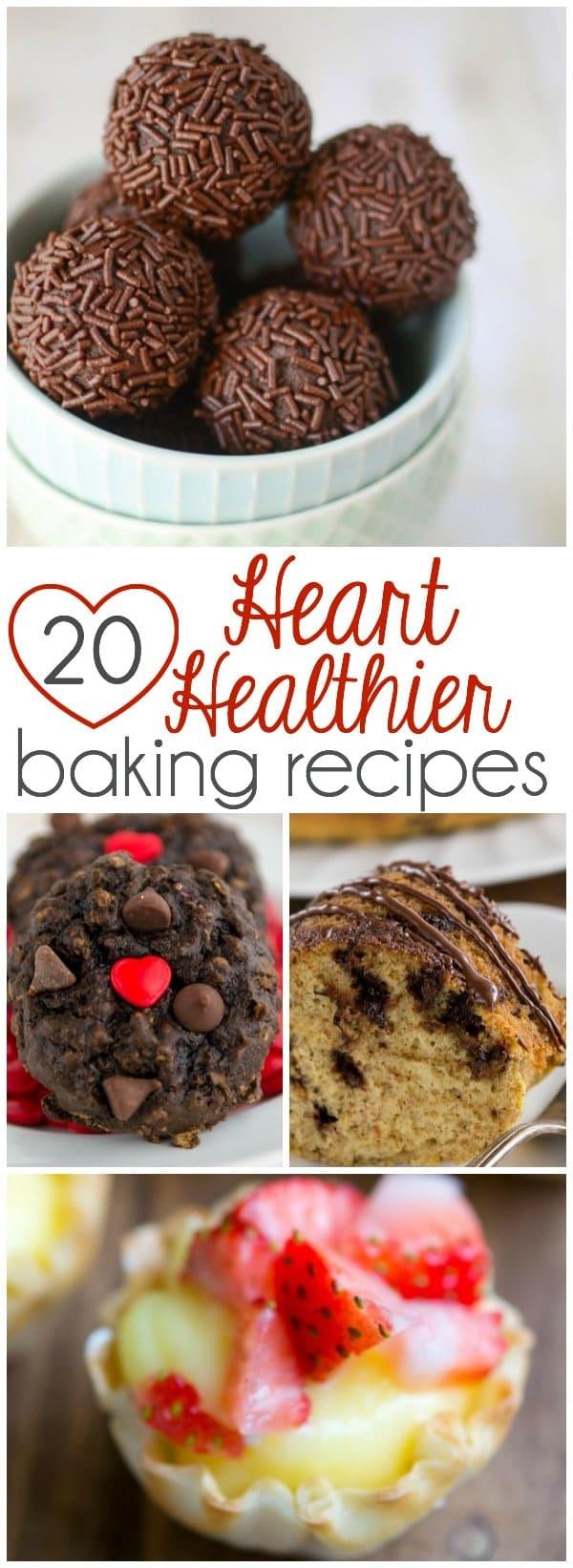 20 Heart Healthier Baking Recipes