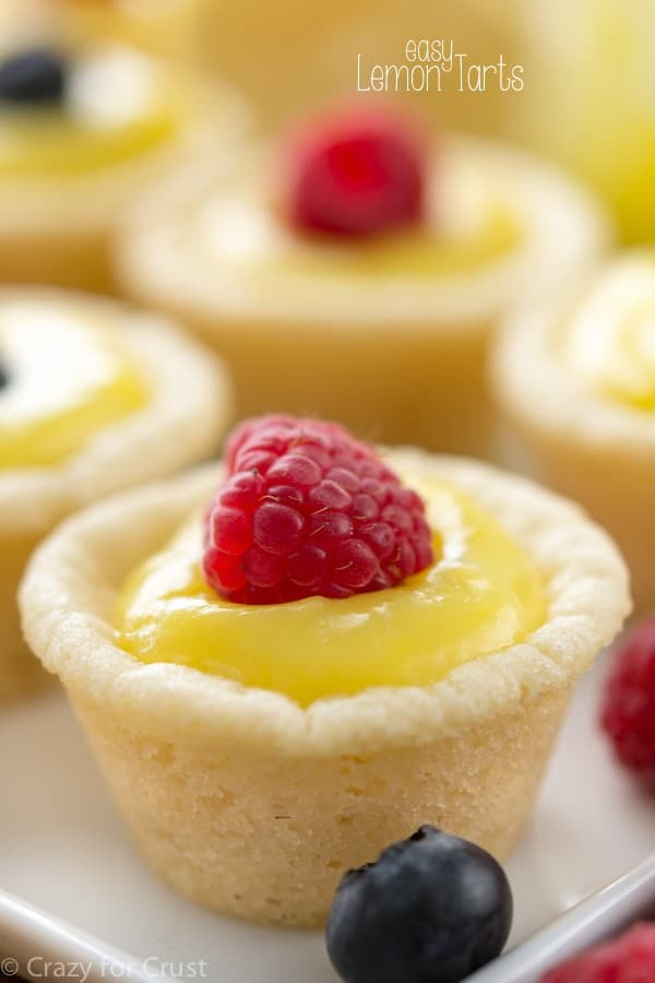 Easy Lemon Tarts