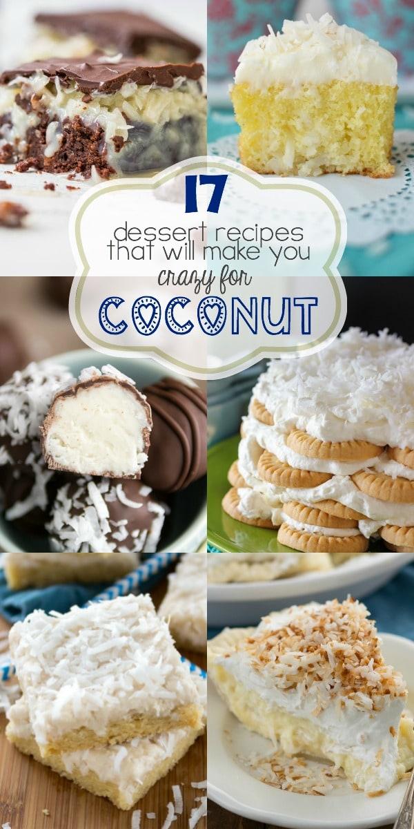 17 Coconut Dessert Recipes