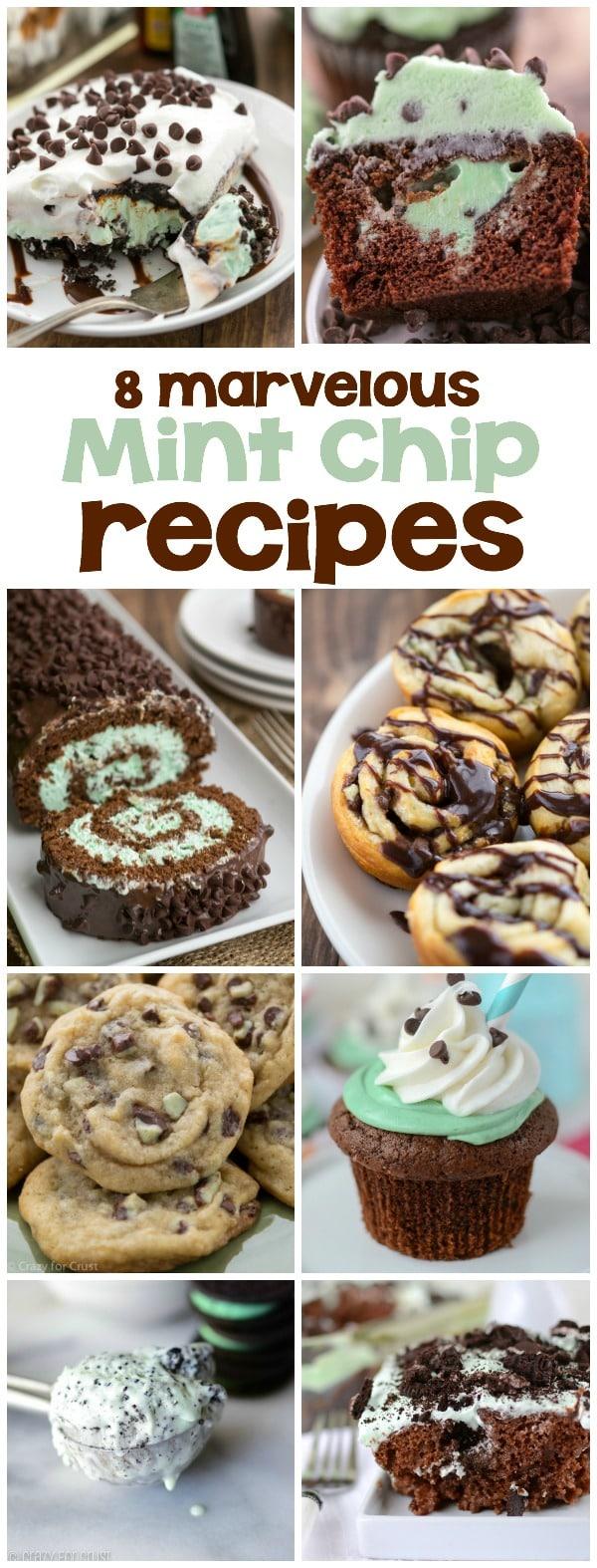 8 Mint Chip Recipes