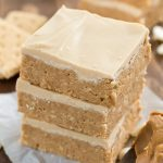 No-Bake Double Peanut Butter Bars - the easiest no-bake dessert for peanut butter lovers.