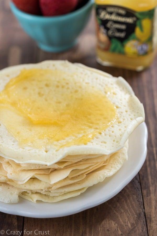 Lemon Pancake Rolls